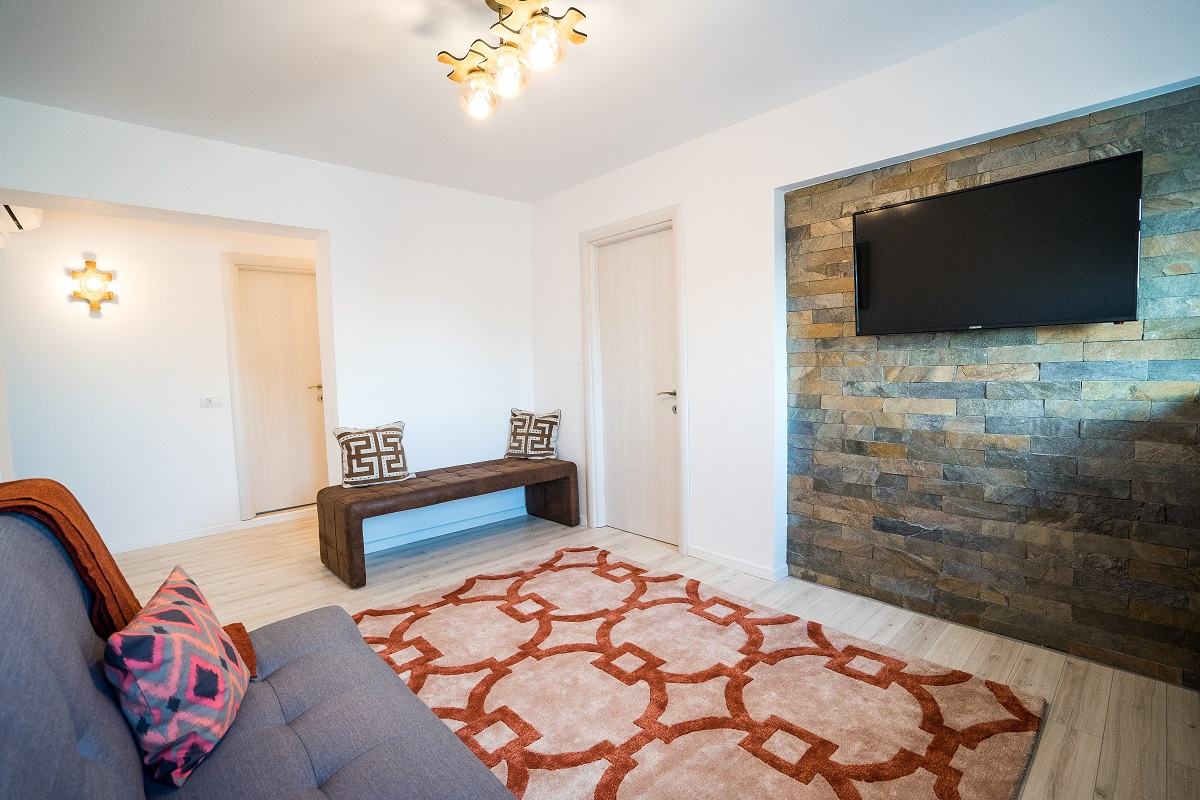 Amenajare de Interior apartament 3 camere Airbnb 2.1