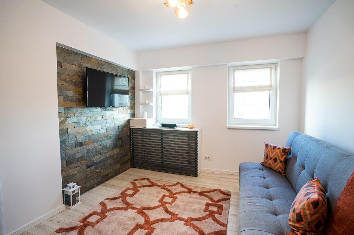 Amenajare de Interior apartament 3 camere Airbnb 2.2