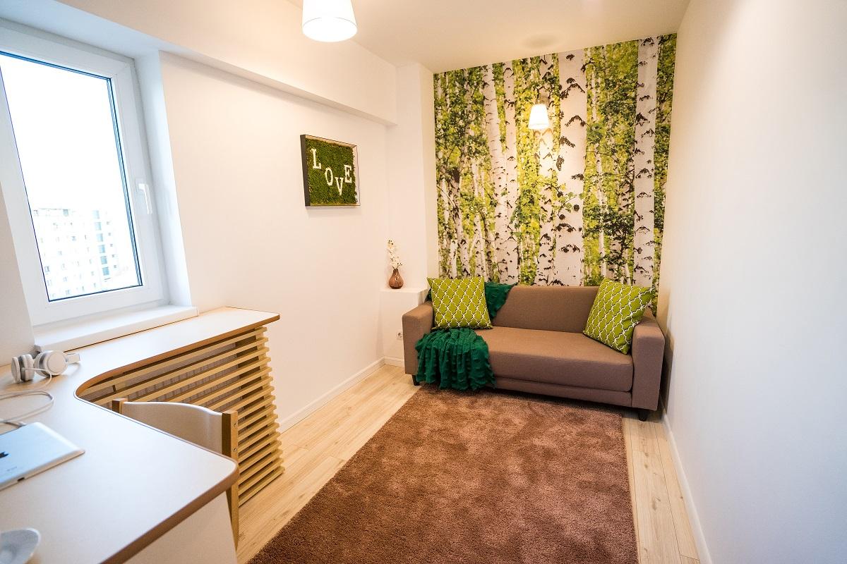 Amenajare de Interior apartament 3 camere Airbnb 6