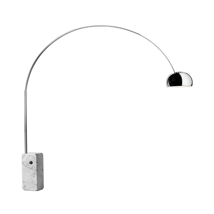 obiecte de design celebre Arco floor lamp