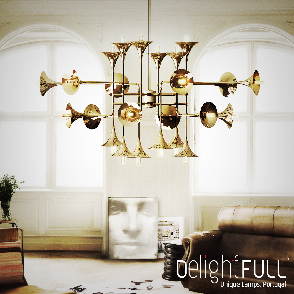 obiecte de design celebre candelabru Delightfull