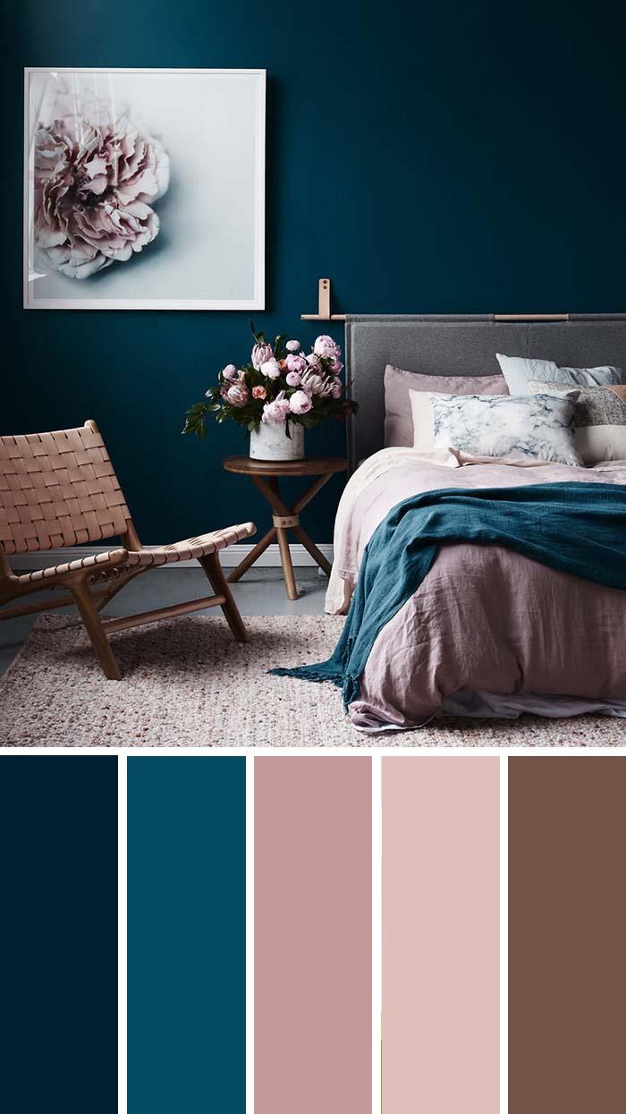 scheme de culori pentru dormitor