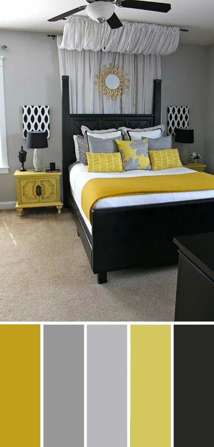 scheme de culori pentru dormitor clasic