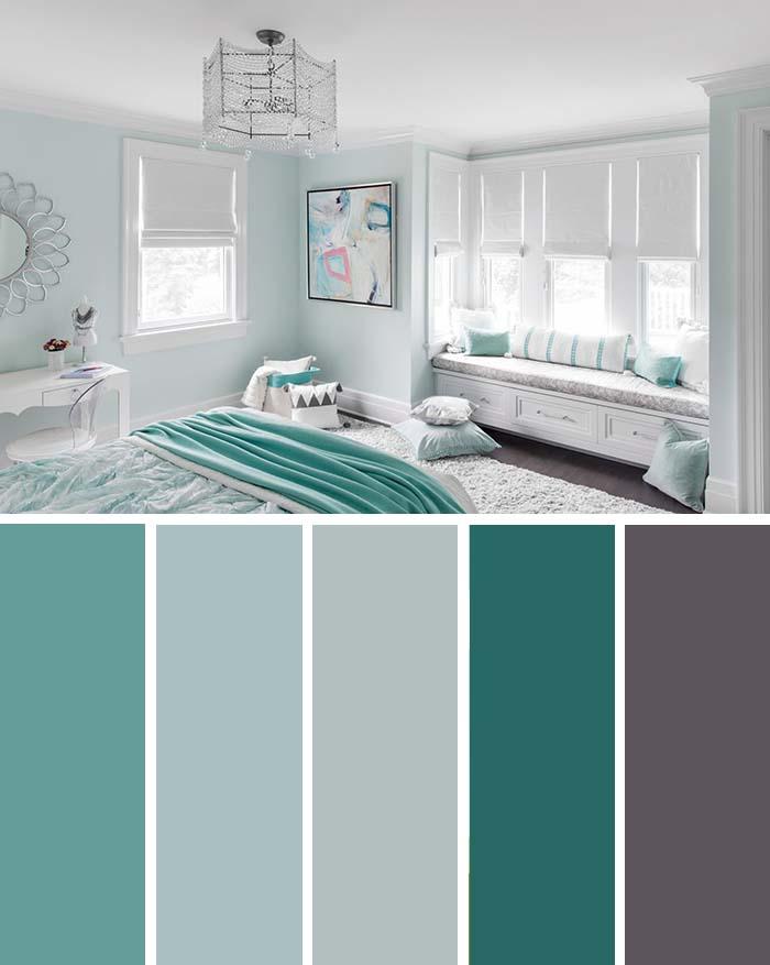 scheme de culori pentru dormitor dormitor turcoaz