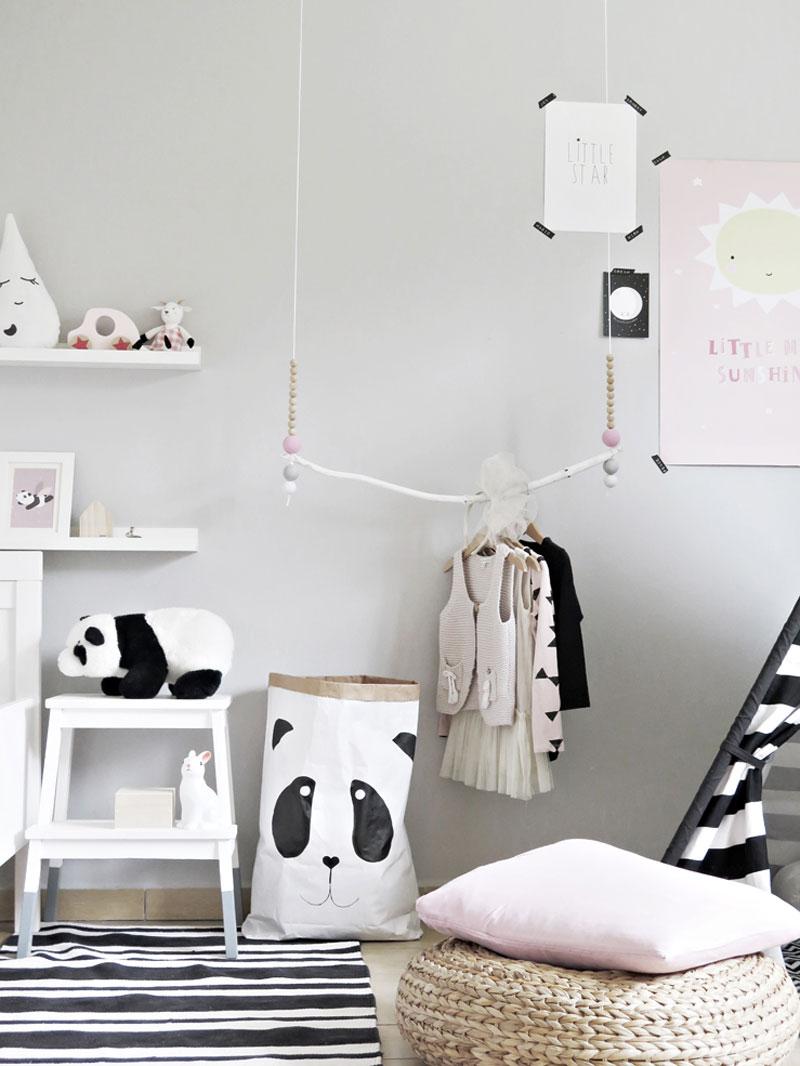 camera copilului în stil Montessori