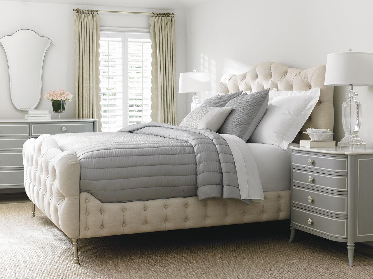 pat tapițat amenajare dormitor