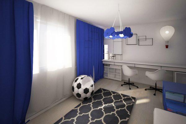 apartament colorat camera copil